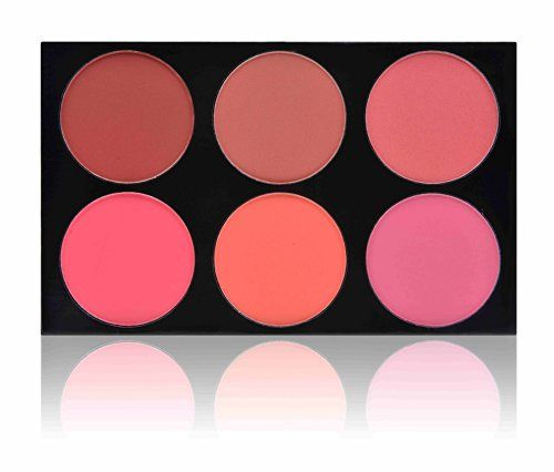 """SHANY Masterpiece 6 Colors Large Blush Palette/Refill - """"SHE'S NOT SHY"""""""