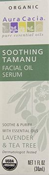 Aura Cacia Soothing Tamanu Facial Oil Serum