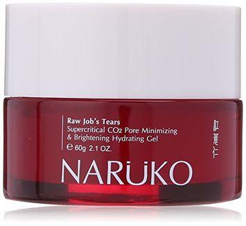 Naruko Raw Job's Tears Supercritical CO2 Pore Minimizing and Brightening Hydrating Gel