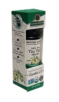 Nature's Answer 100 Percent Pure Organic Tea Tree Essential Oil
