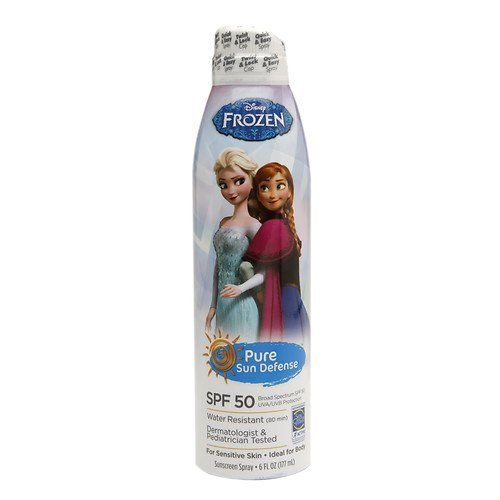 100% Pure Sun Defense Disney Frozen Sunscreen Spray SPF 50