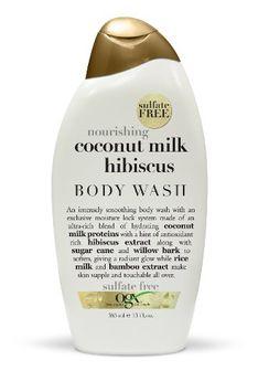 OGX® Nourishing Coconut Milk Hibiscus Creamy Body Wash