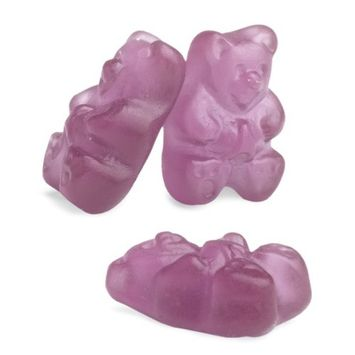 Albanese Confectionery Albanese Concord Grape Gummi Bears, 5-Pound Bag
