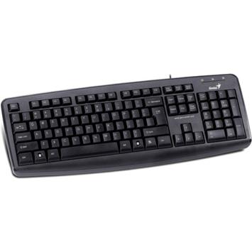 Genius 3130071139 KB-110X PS2 Desktop Keyboard, Black