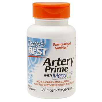 Doctor's Best Artery Prime with MenaQ7 180mcg Doctors Best 60 VCaps