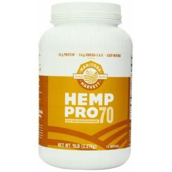 Manitoba Harvest Hemp Pro 70 Protein Supplement, 5 Pound