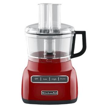KitchenAid 7 Cup Food Processor - Empire Red