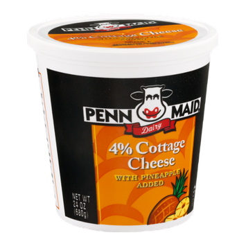 Penn Maid Dairy 4% Cottage Cheese with Pineapple