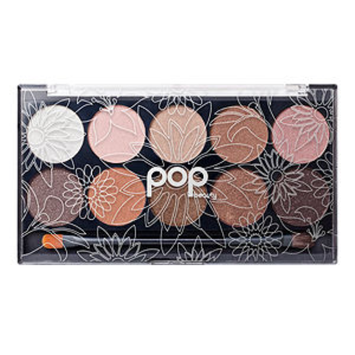 Pop Beauty Bright Up Your Life Eyeshadow Palette Naturally Bare