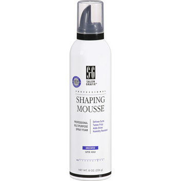 Salon Grafix Super Hold Unscented Shaping Mousse