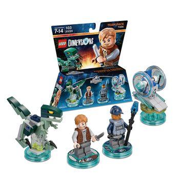 Warner Brothers LEGO Dimensions - Team Pack - Jurassic World (71205)