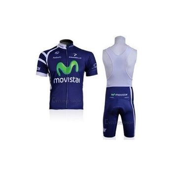 Mick cycling jersey CYCLING JERSEY+BIB SHORTS 2011 MOVISTAR- BLUE-AVAILABLE(available Size:S, M, L, Xl, Xxl,XXXL)