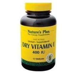 Nature's Plus - Vitamin E Dry, 400 IU, 90 capsules [Health and Beauty]