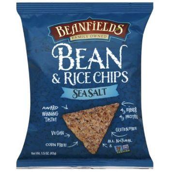 Beanfields Sea Salt Bean & Rice Chips, 1.5 oz, (Pack of 24)