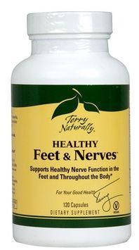 EuroPharma - Terry Naturally Healthy Feet & Nerves - 120 Capsules