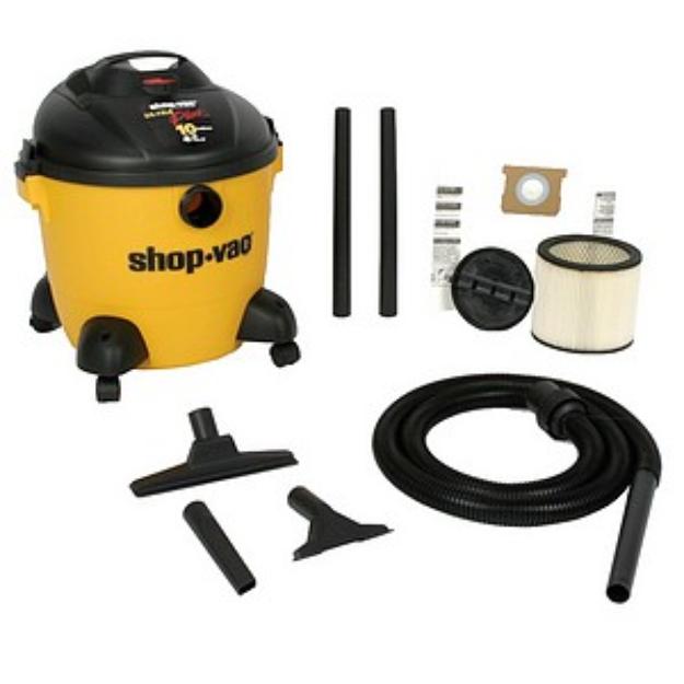 Shop-Vac 10 Gallon 4 HP Ultra Pro Wet/Dry Vacuum Model 965-10-00