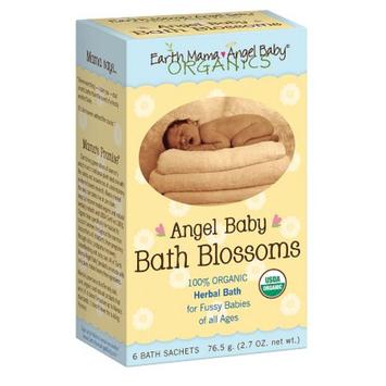 Earth Mama Angel Baby Bath Blossoms Bath Sachets