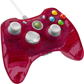 PDP Rock Candy Wired Controller for Xbox 360, Cranblast
