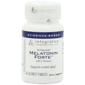 Integrative Therapeutic's Integrative Therapeutics - Melatonin ForteTM - 60 tabs (Premium Packaging)