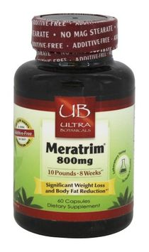 Ultra Botanicals - Meratrim 800 mg. - 60 Capsules