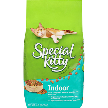 Special Kitty Indoor Dry Cat Food, 6-Pound