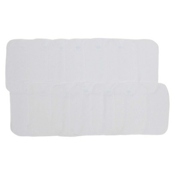 Neat Solutions 12pk White Washcloths Set
