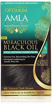 Optimum Care Amla Legend Miraculous Oil Dull Defying Hair Color