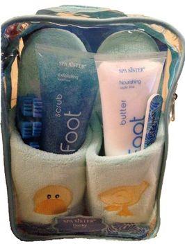 Bath Accessories Applique Spa Slipper Set
