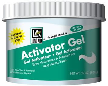 Long Aid Extra Dry Hair Activator Gel