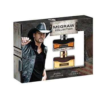 Tim McGraw 2 Piece Gift Set (1.0 Ounce McGraw Plus 1.0 Ounce Southern Blend)