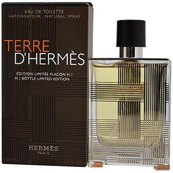 Hermes Terre D'Hermes Limited Edition H.2 Limited Edition Eau De Toilette Spray for Men