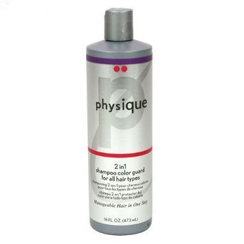 Physique 2 in 1 Shampoo + Conditioner for Color Treated Hair - 16 Oz.