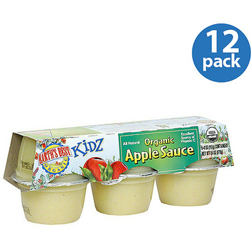 Earth's Best All Natural Organic Applesauce