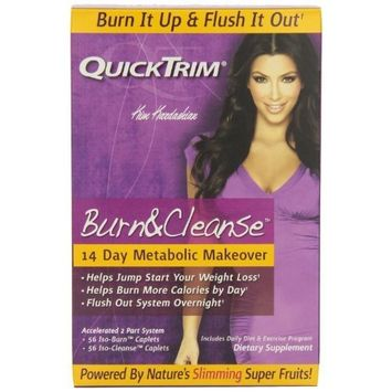 Quicktrim Burn And Cleanse, 14 Day System