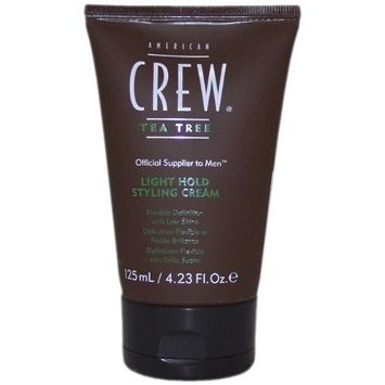 Tea Tree Light Hold Styling Cream by American Crew, 4.2 Ounce