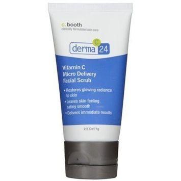 c. Booth Derma Vitamin C Micro Facial Scrub - 2.5 oz