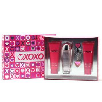 Xoxo 12070903 For Ladies 3.4 Spray 3.4 Body Lotion 3.4 Shower Gel & Keychain