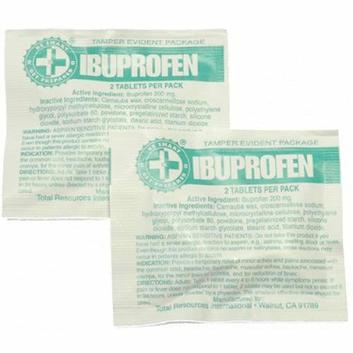 Guardian FAIB CS Ibuprofen Packs with 2 Tablets (100 packs)