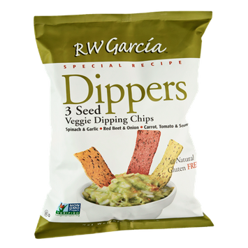 RW Garcia Dippers Special Recipe 3 Seed Veggie Dipping Chips