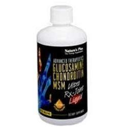 Glucosamine Chondroiton MSM Ultra Rx Nature's Plus 30 oz Liquid