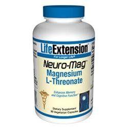 Life Extension Neuro-Mag Magnesium L-Threonate - 90 Vegetarian Capsules