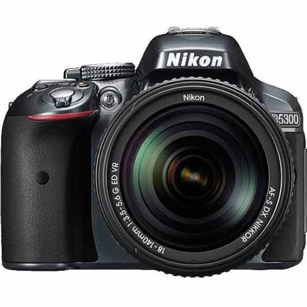 Nikon D5300 Digital SLR Camera Body (Grey)