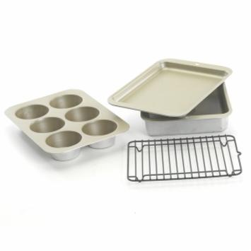 Nordic Ware 5pc Compact Ovenware Set, Metallic, 1 ea