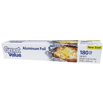 Great Value Aluminum Foil