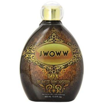 Australian Gold Jwoww Ultimate 50X Black Bronzer Tanning Lotion, 13.5 Fluid Ounce