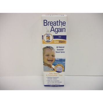 Breathe Again All Natural Nasal Spray - Children 3.38 fl oz