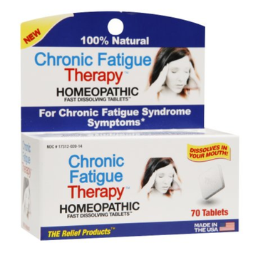 The Relief Products Chronic Fatigue Therapy Homeopathic Fast Dissolving Tablets, 70 ea