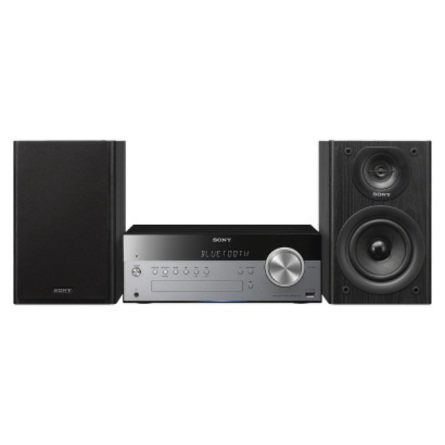 Sony Micro Music System with Bluetooth and NFC - Black (CMTSBT100)