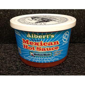 Alberts Hot Sauce Medium Picante