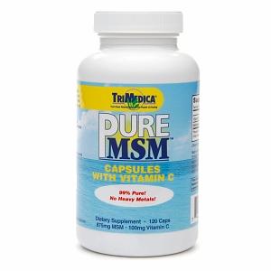 TriMedica Pure MSM with Vitamin C